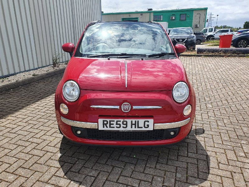 View FIAT 500C 1.4 OPT START-STOP LOUNGE 3 DOOR MANUAL PETROL IN RED