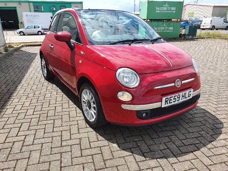 FIAT 500C 1.4 OPT START-STOP LOUNGE 3 DOOR MANUAL PETROL IN RED