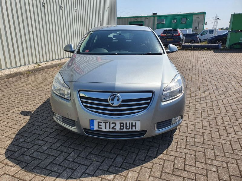 View VAUXHALL INSIGNIA 2.0 CDTi 158 SRi 5 DOOR MANUAL DIESEL IN SILVER  **** NOW SOLD *****
