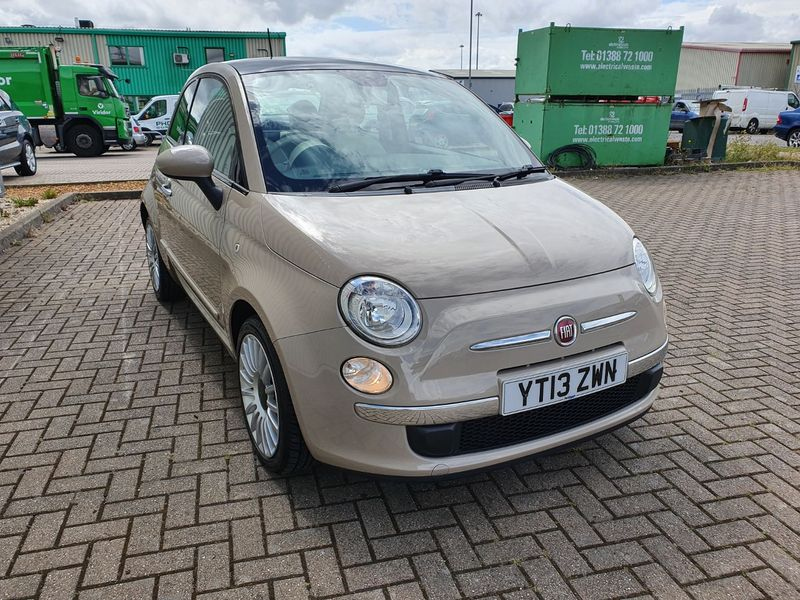 View FIAT 500 1.2  START-STOP LOUNGE  3 DOOR MANUAL PETROL IN BEIGE