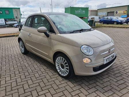 FIAT 500 1.2  START-STOP LOUNGE  3 DOOR MANUAL PETROL IN BEIGE