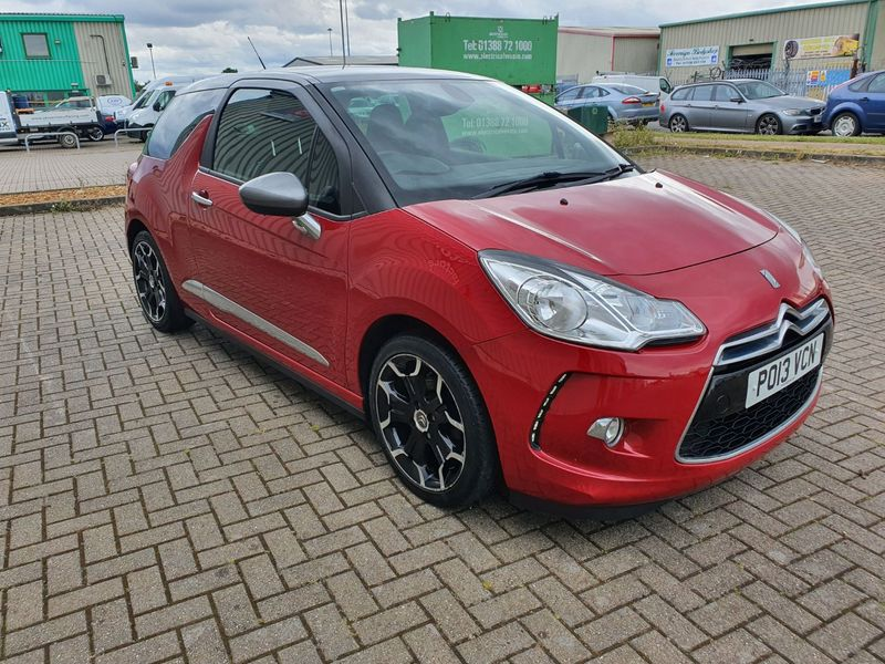 View CITROEN DS3 1.6 VTi 120 DSTYLE PLUS 3 DOOR MANUAL PETROL IN  RED