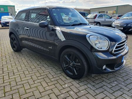 MINI PACEMAN 1.6 COOPER D ALL4 3 DOOR MANUAL DIESEL IN BLACK