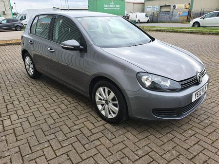 VOLKSWAGEN GOLF 1.6 MATCH TDI 5 DOOR MANUAL DIESEL IN GREY