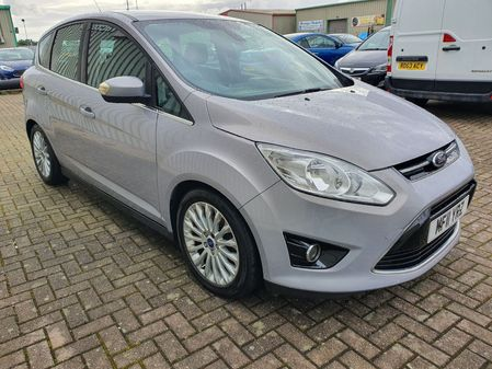 FORD C-MAX 1.6 TITANIUM TDCI 5 DOOR MANUAL DIESEL IN SILVER