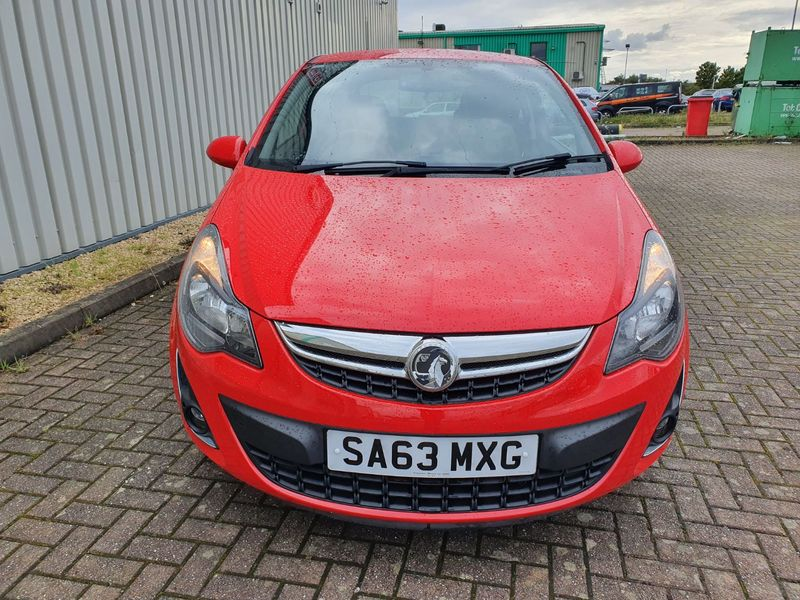 View VAUXHALL CORSA 1.2 SXI 3 DOOR MANUAL PETROL IN RED **** NOW SOLD ***