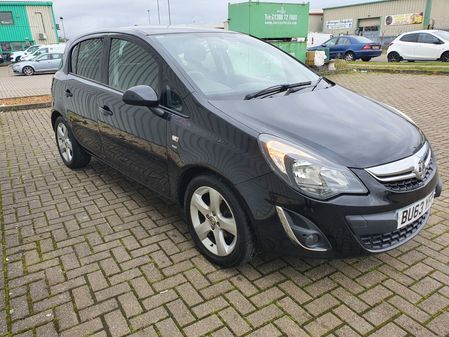 VAUXHALL CORSA 1.2 SXI AC 5 DOOR MANUAL PETROL IN BLACK